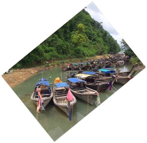 Canoes of Ao Nang